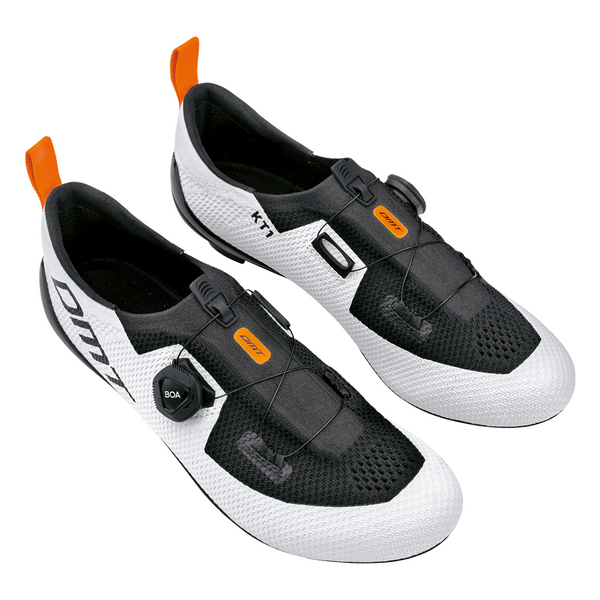 SCARPE DMT KT1 WHITE/BLACK - Velo boutique Gobik Chile