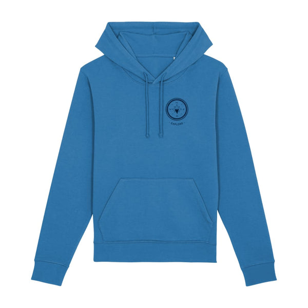 Explore Hoodie - Royal Blue / X-Small - Clothing
