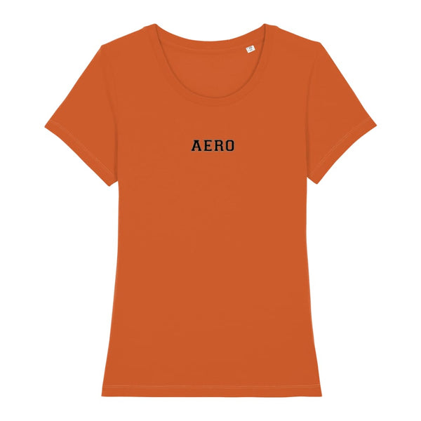 Aero Women's T-Shirt - Bright Orange / X-Small - Clothing