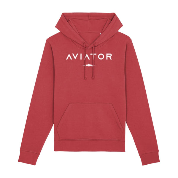 Aviator Hoodie - Red / X-Small - Clothing
