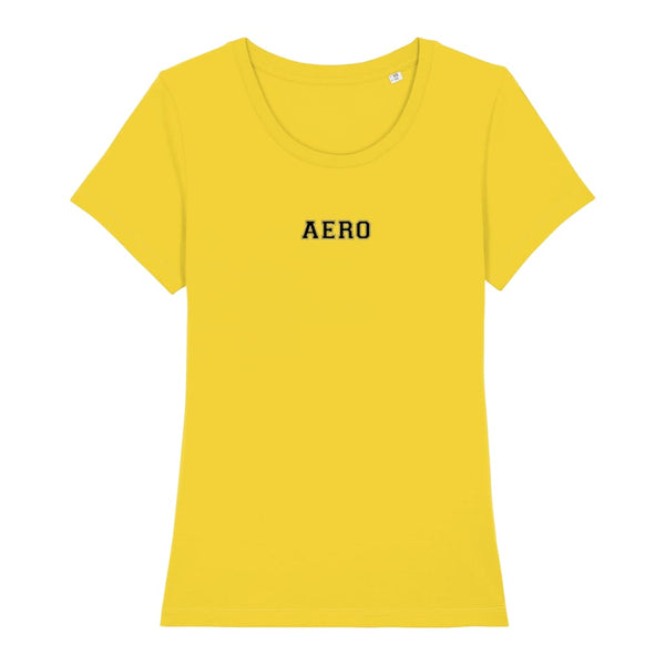 Aero Women's T-Shirt - Golden Yellow / X-Small - Clothing