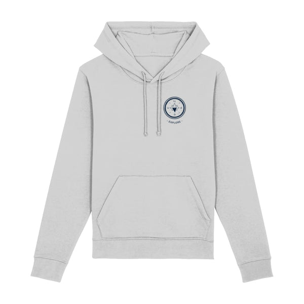 Explore Hoodie - Heather Grey / XX-Small - Clothing