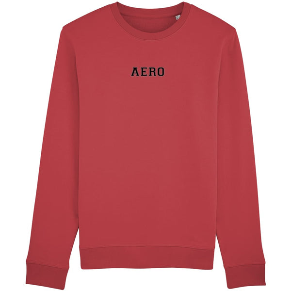 Aero Sweatshirt - Red / X-Small - Clothing