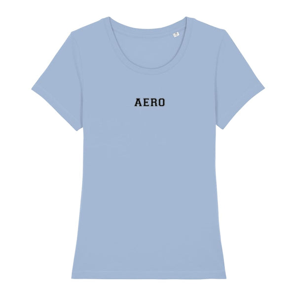Aero Women's T-Shirt - Sky Blue / X-Small - Clothing