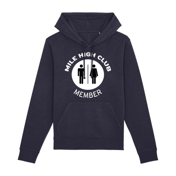 Aero Threads Clothing French Navy / XX-Small Mile High Club Member Hoodie