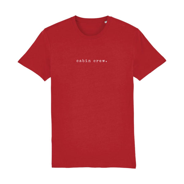 AeroThreads Clothing Bright Red / XX-Small Cabin Crew Men's T-Shirt