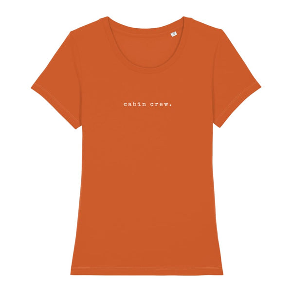 AeroThreads Clothing Bright Orange / X-Small Cabin Crew Women's T-Shirt