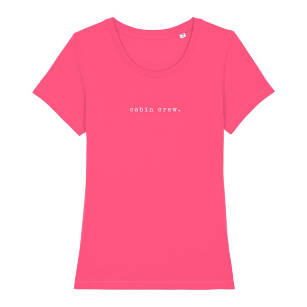 AeroThreads Clothing Pink Punch / X-Small Cabin Crew Women's T-Shirt