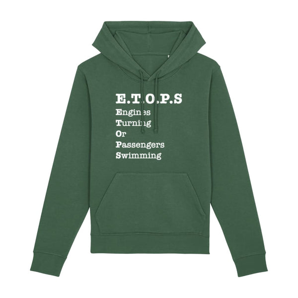 AeroThreads Clothing Bottle Green / X-Small ETOPS Unisex Hoodie