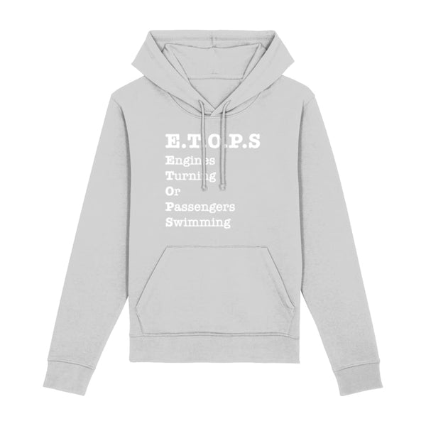 AeroThreads Clothing Heather Grey / XX-Small ETOPS Unisex Hoodie