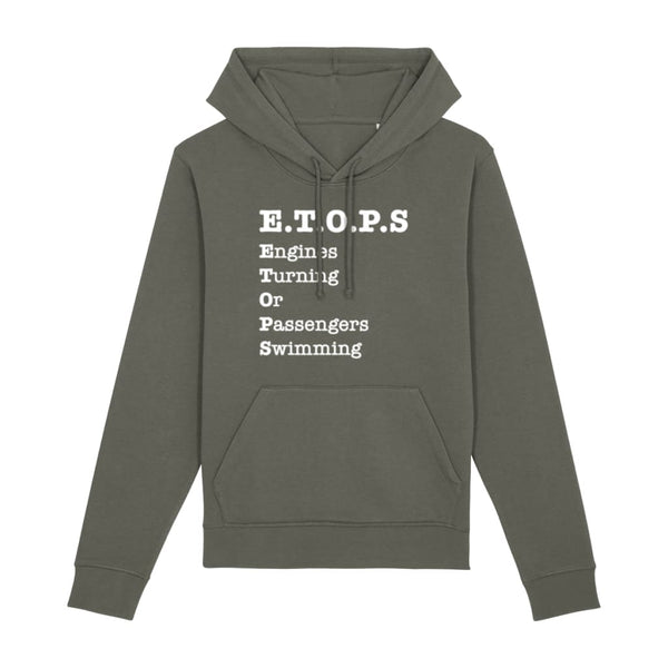 AeroThreads Clothing Khaki / X-Small ETOPS Unisex Hoodie