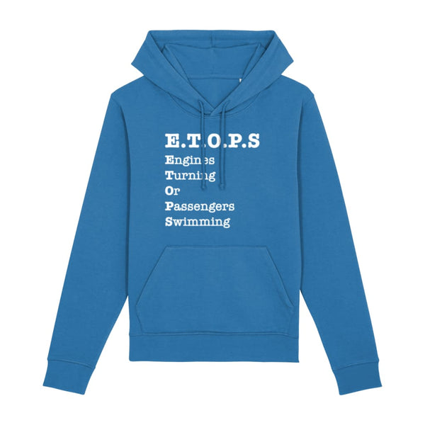 AeroThreads Clothing Royal Blue / X-Small ETOPS Unisex Hoodie