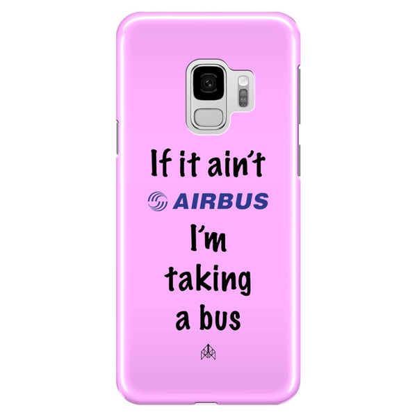 AeroThreads Phone Cases Medium Pink If it ain't Airbus - Samsung Galaxy S9