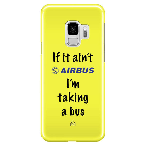 AeroThreads Phone Cases Pale Yellow If it ain't Airbus - Samsung Galaxy S9