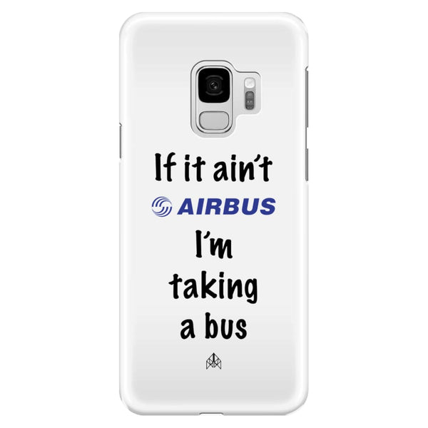 AeroThreads Phone Cases White If it ain't Airbus - Samsung Galaxy S9