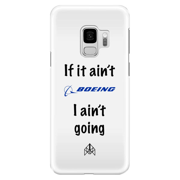 AeroThreads Phone Cases White If it ain't Boeing - Samsung Galaxy S9