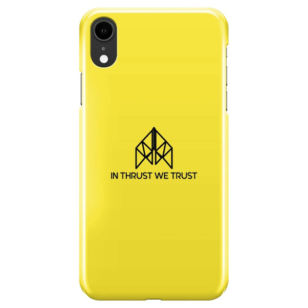 AeroThreads Phone Cases Lemon In Thrust We Trust iPhone XR Full Wrap Case