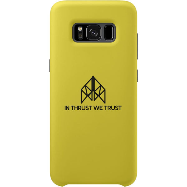 AeroThreads Phone Cases Lemon In Thrust We Trust Samsung Galaxy S8 Full Wrap Case