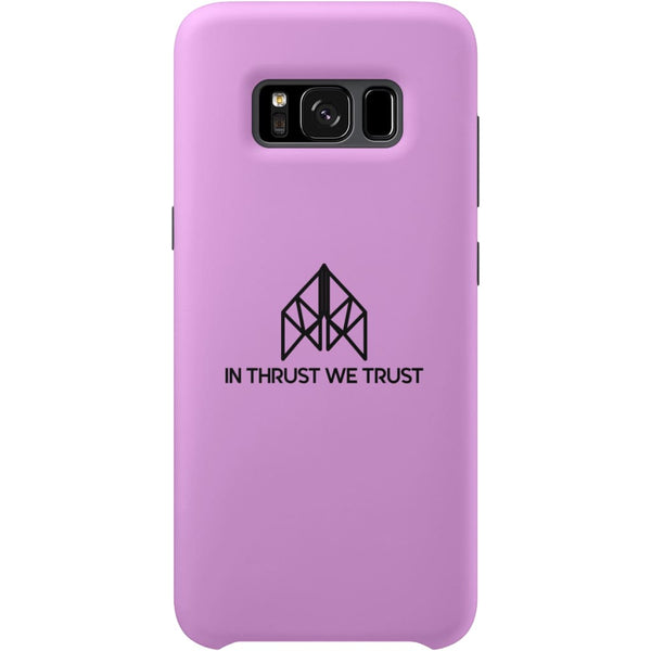 AeroThreads Phone Cases Medium Pink In Thrust We Trust Samsung Galaxy S8 Full Wrap Case