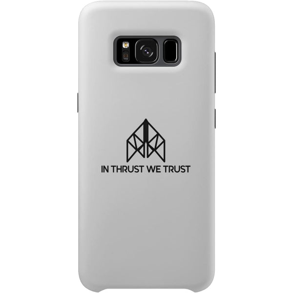 AeroThreads Phone Cases White In Thrust We Trust Samsung Galaxy S8 Full Wrap Case