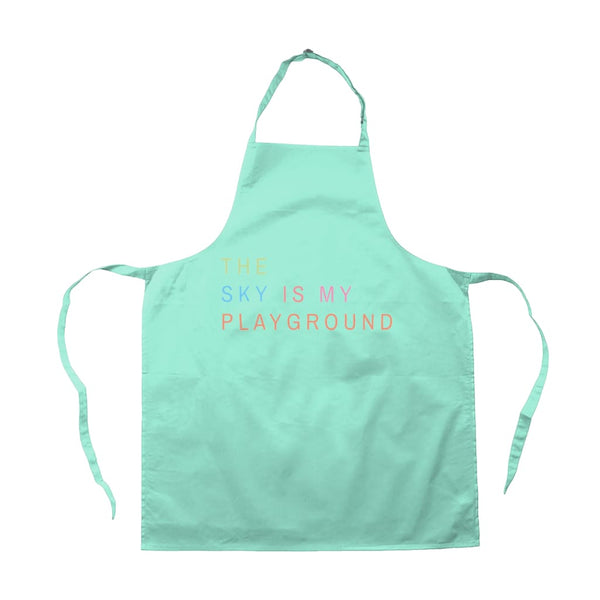 AeroThreads Accessories & Homeware Aqua The Sky Is My Playground Apron