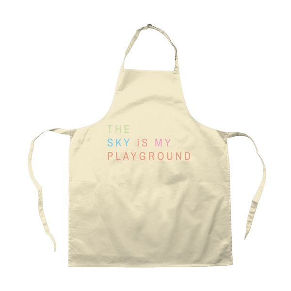 AeroThreads Accessories & Homeware Natural The Sky Is My Playground Apron
