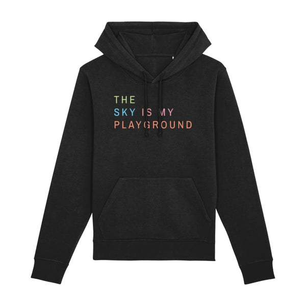 AeroThreads Clothing Black / XX-Small The Sky Is My Playground Unisex Hoodie