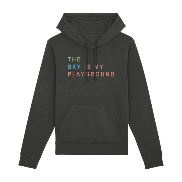 AeroThreads Clothing Dark Heather Grey / X-Small The Sky Is My Playground Unisex Hoodie