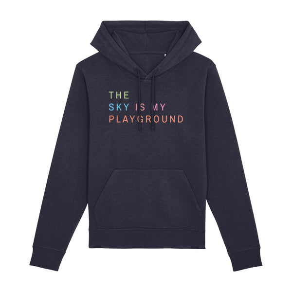 AeroThreads Clothing French Navy / XX-Small The Sky Is My Playground Unisex Hoodie