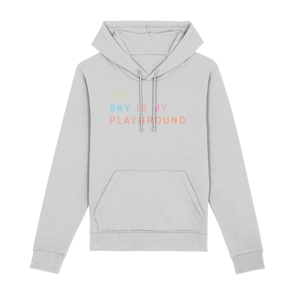 AeroThreads Clothing Heather Grey / XX-Small The Sky Is My Playground Unisex Hoodie