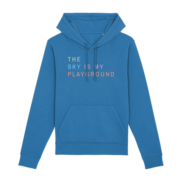 AeroThreads Clothing Royal Blue / X-Small The Sky Is My Playground Unisex Hoodie