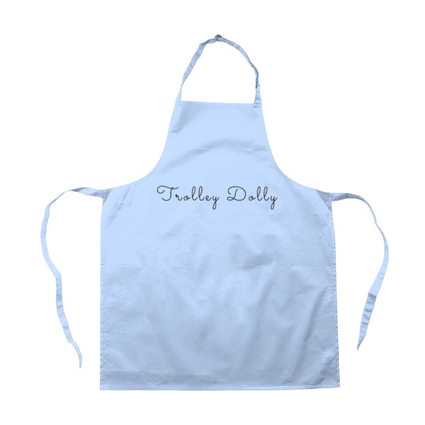 AeroThreads Accessories & Homeware Light Blue Trolley Dolly Apron