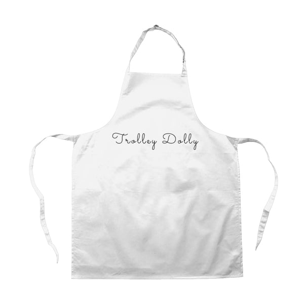 AeroThreads Accessories & Homeware White Trolley Dolly Apron