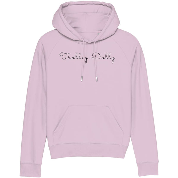 AeroThreads Clothing Candy Pink / X-Small Trolley Dolly Women's Hoodie