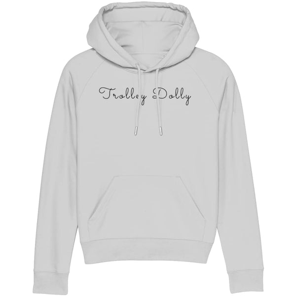 AeroThreads Clothing Heather Grey / X-Small Trolley Dolly Women's Hoodie