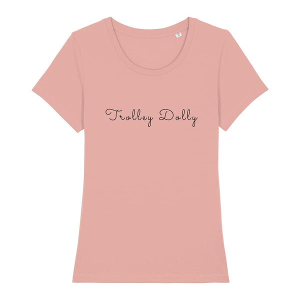 AeroThreads Clothing Canyon Pink / X-Small Trolley Dolly Women's T-Shirt