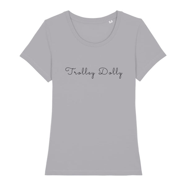 AeroThreads Clothing Mid Heather Grey / X-Small Trolley Dolly Women's T-Shirt
