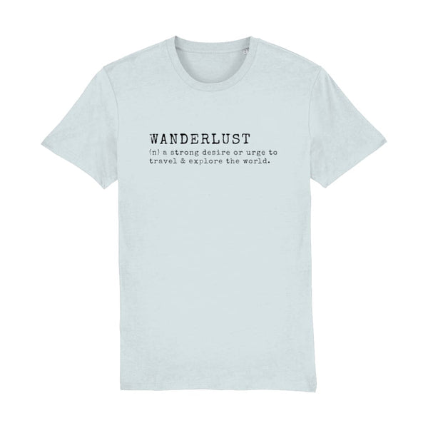 AeroThreads Clothing Baby Blue / X-Small Wanderlust Men's T-Shirt