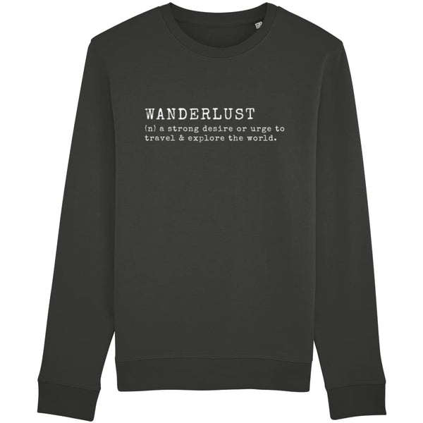 AeroThreads Clothing Dark Heather Grey / X-Small Wanderlust Unisex Sweatshirt