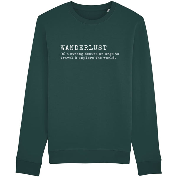 AeroThreads Clothing Glazed Green / X-Small Wanderlust Unisex Sweatshirt