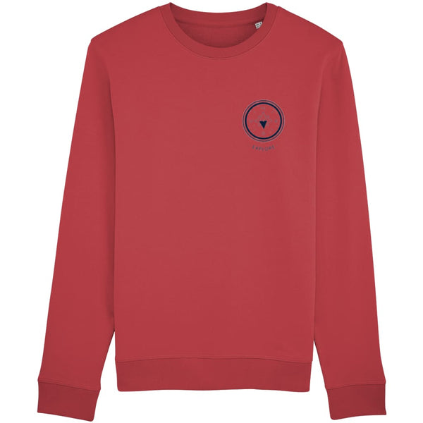 Explore Sweatshirt - Red / X-Small - Clothing