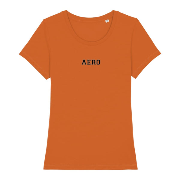 Aero Women's T-Shirt - Roasted Orange / X-Small - Clothing