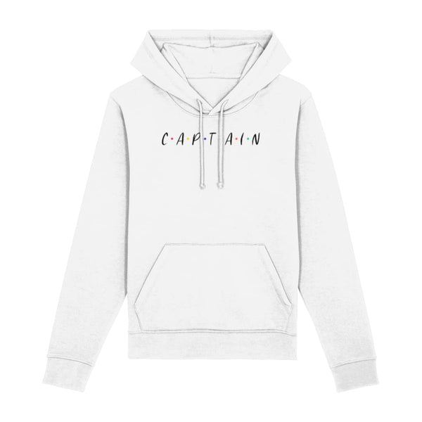 Captain Hoodie - White / XX-Small - Clothing