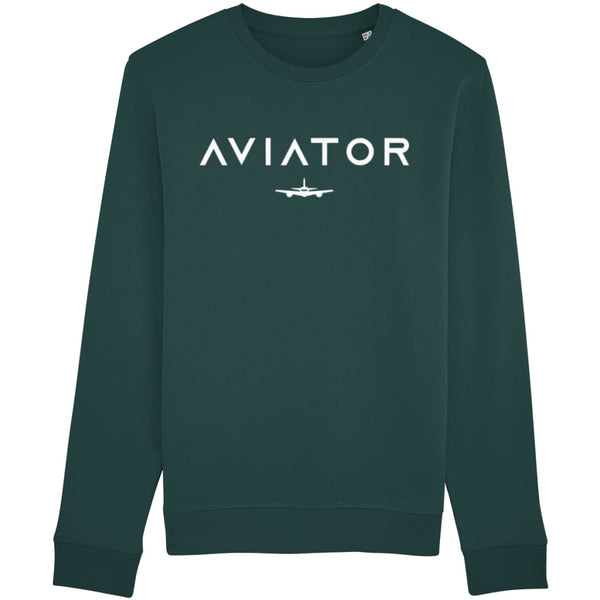 Aviator Sweatshirt - Glazed Green / X-Small - Clothing