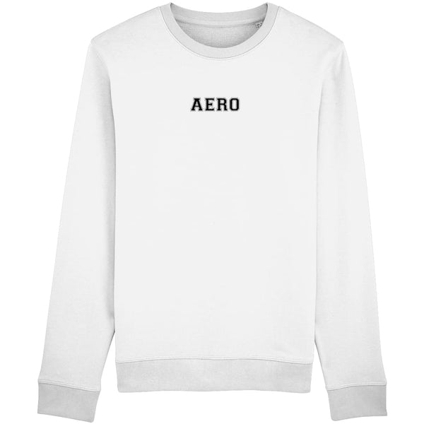 Aero Sweatshirt - White / X-Small - Clothing