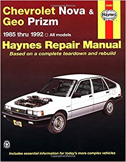 Chevrolet Nova & Geo Prizm (fwd)  '85'92 (Haynes Repair Manuals)