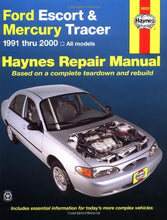 Load image into Gallery viewer, Ford Escort & Mercury Tracer, 1991 - 2000: All Models (Haynes Automotive Repair Manual)