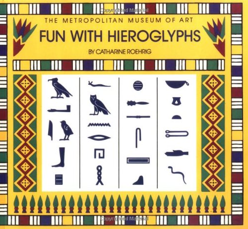 Fun with Hieroglyphs: 24 Rubber Stamps, Hieroglyph Guidebook, Ink Pad (Box Set) (The Metropolitan Museum of Art)