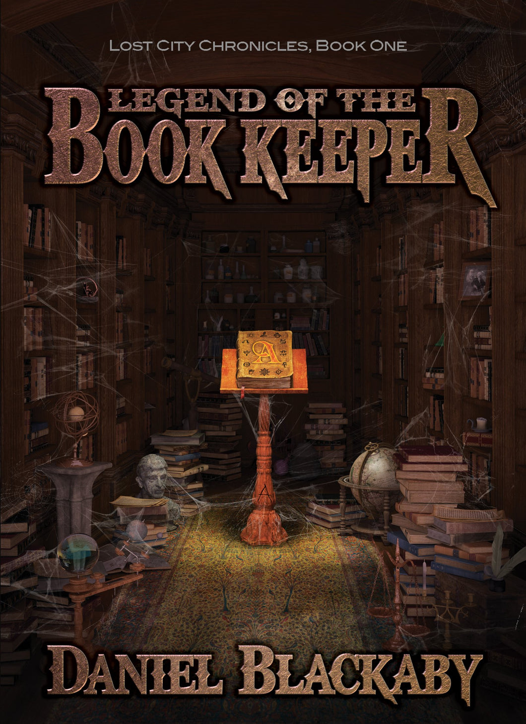 Legend of the Book Keeper (Lost City Chronicles, Book 1)