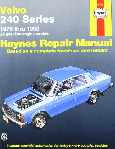 Haynes 97020 Technical Repair Manual